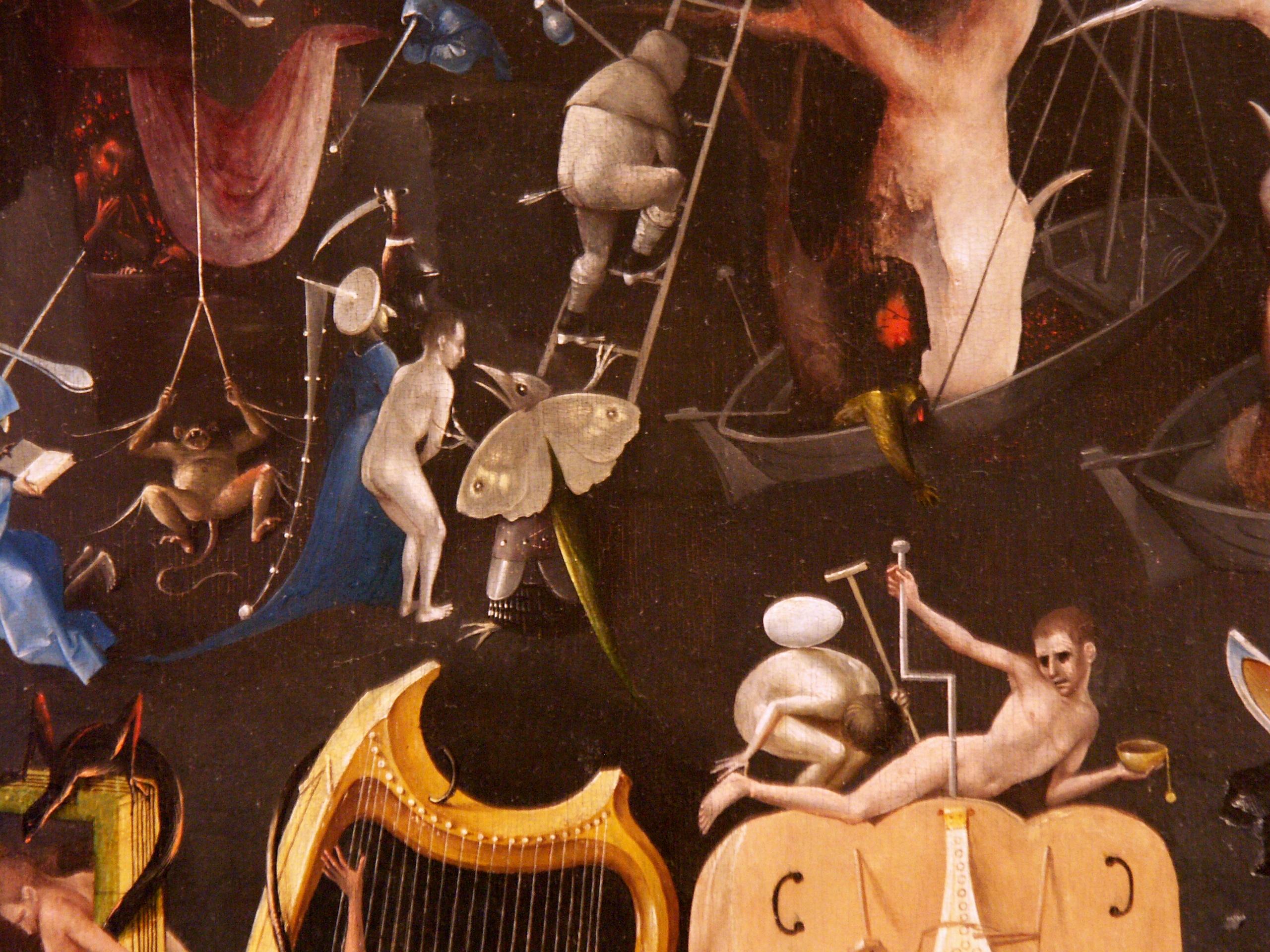 détails du Jardin des délices de Jér´me Bosch